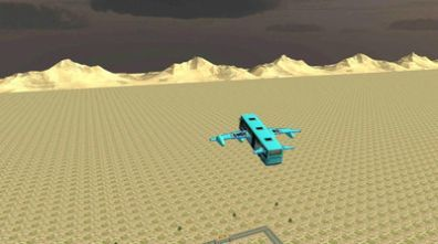 城市飞行巴士游戏截图