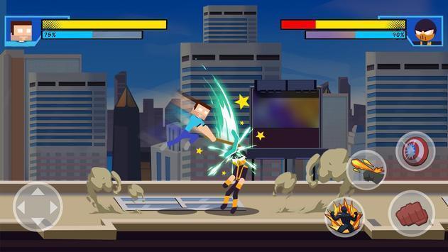 超级英雄打击战斗