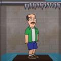放水和岩浆的游戏