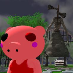 小猪逃脱警笛头