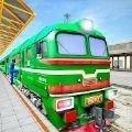 疯狂城市火车驾驶模拟器