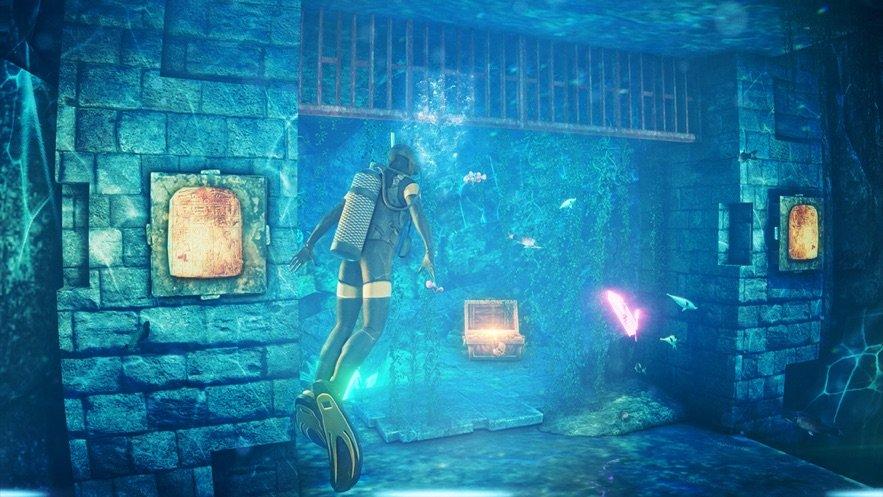 筏生存水下世界