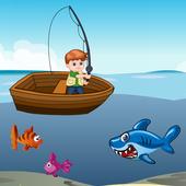鲨鱼与钓鱼挑战赛
