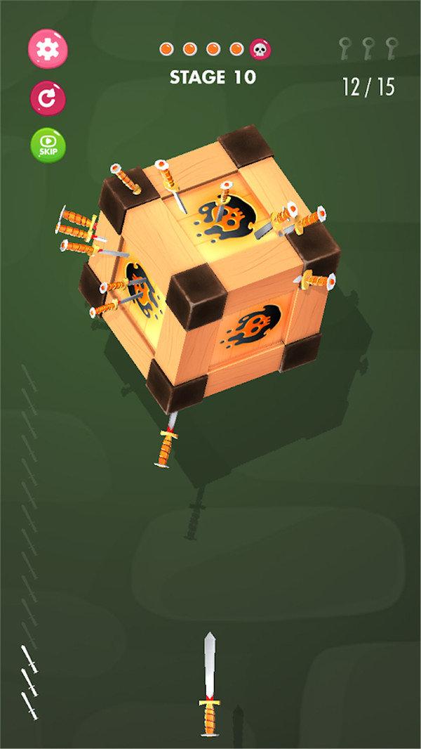 飞刀挑战3D游戏下载-飞刀挑战3D手机版下载
