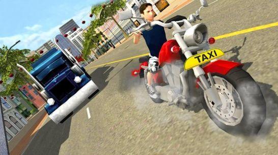 城市出租车自行车驾驶3D