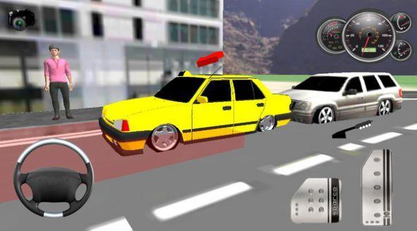 出租車載客模擬游戲