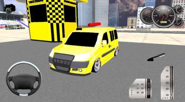 出租車載客模擬游戲截圖