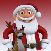 有趣的圣诞节圣诞老人