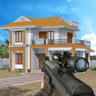 房屋射击摧毁模拟器