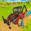 虚拟村庄挖掘机模拟器