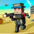 块状军队现代战争打击