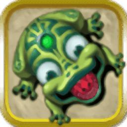 青蛙吐珠小游戏