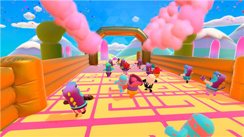 疯狂糖豆人手机版下载-疯狂糖豆人游戏下载
