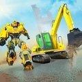 挖掘机机器人模拟器
