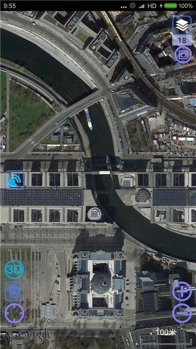 谷歌卫星地图2020高清