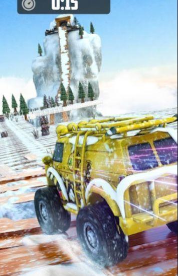 登山車駕駛雪山