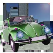 甲壳虫漂移汽车模拟器