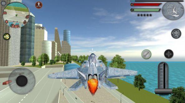 机器人飞行模拟器