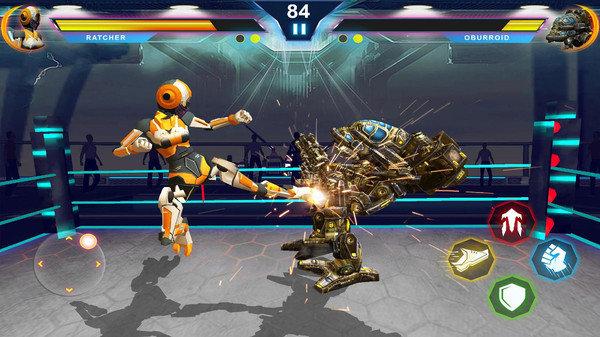 机器人变形战斗游戏