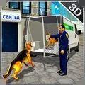 警犬运输卡车
