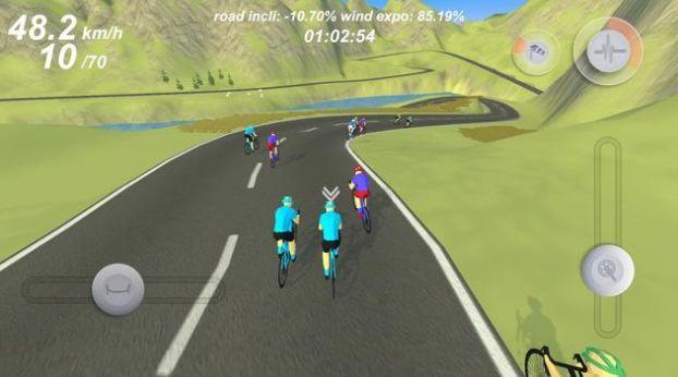 专业自行车模拟