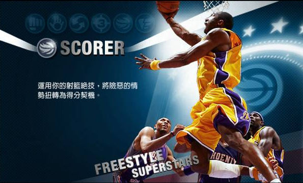 NBA游戏专区