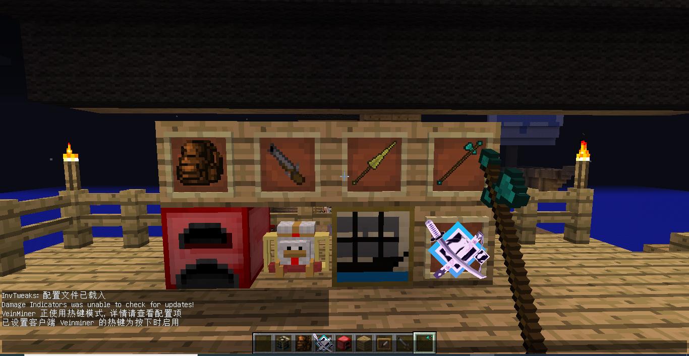 我的世界海賊王整合包游戲截圖