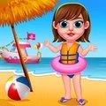 夏日海滩女孩