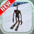警笛头雪地滑雪