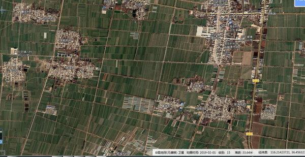 谷歌乡村2020超清实时卫星地图最新下载