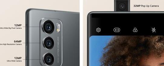 旋转双屏手机LG Wing发布,LG Wing手机配置