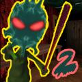 恐怖奶奶绿色外星人2