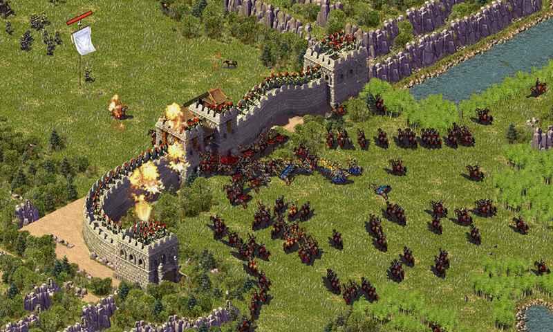 我的城市与军队无敌版游戏截图