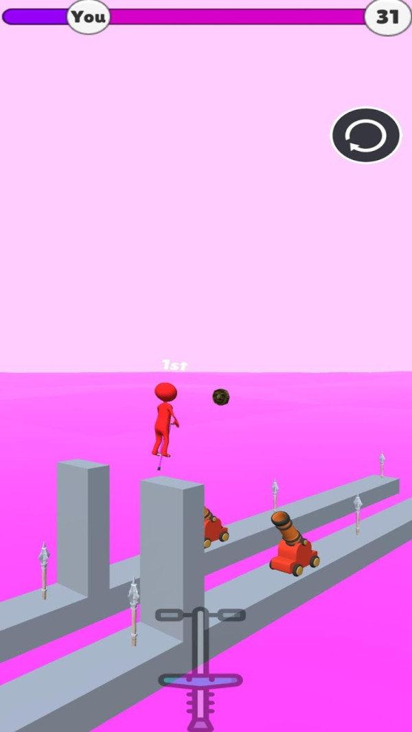 火柴人跳高高官方版游戏下载-火柴人跳高高抖音版游戏下载
