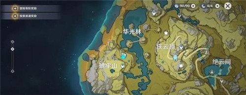 高能时刻原神地图