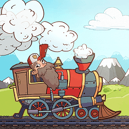 疯狂火车头无限金币版