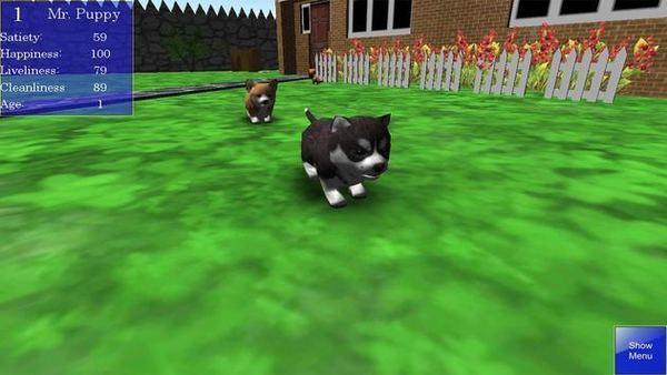 小狗养成模拟器3D中文版游戏下载-小狗养成模拟器3D官方版下载