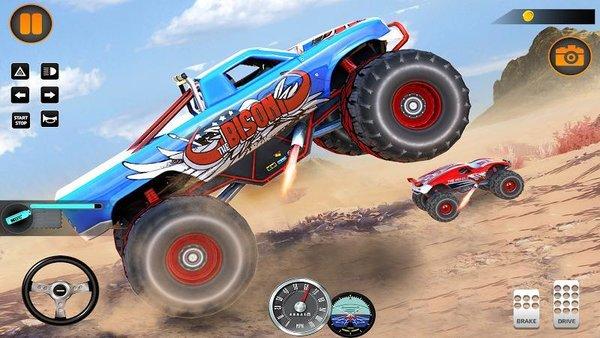 怪物卡车越野竞速2020游戏下载-怪物卡车越野竞速2020手游