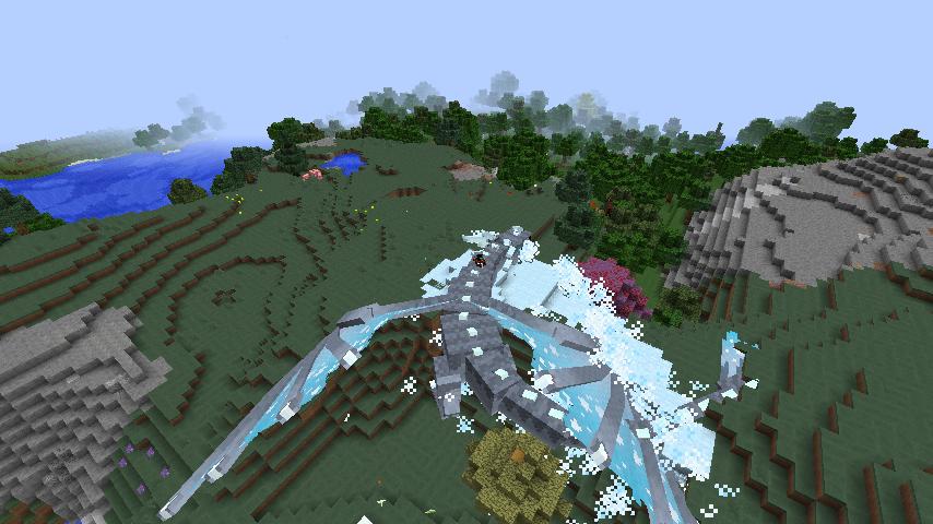 我的世界屠龙骑士整合包游戏截图