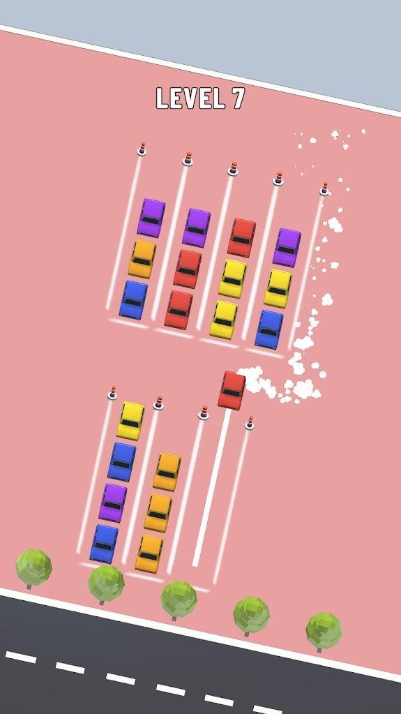排序汽车拼图