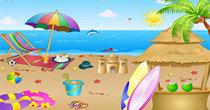 手机上能玩的沙滩游戏大全
