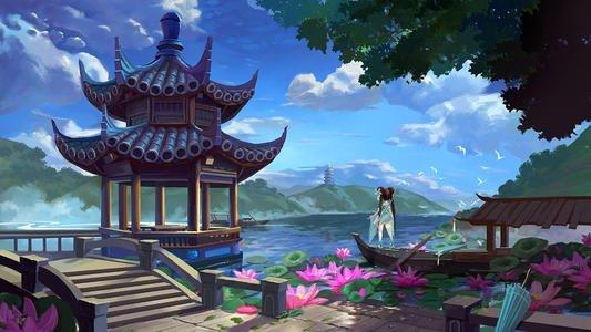 中国风意境手游