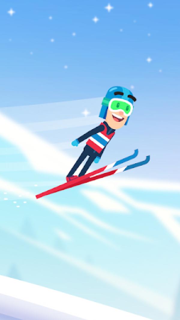 滑雪冒险飞越雪山手游下载-滑雪冒险飞越雪山游戏下载
