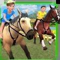 孩子賽馬模擬器
