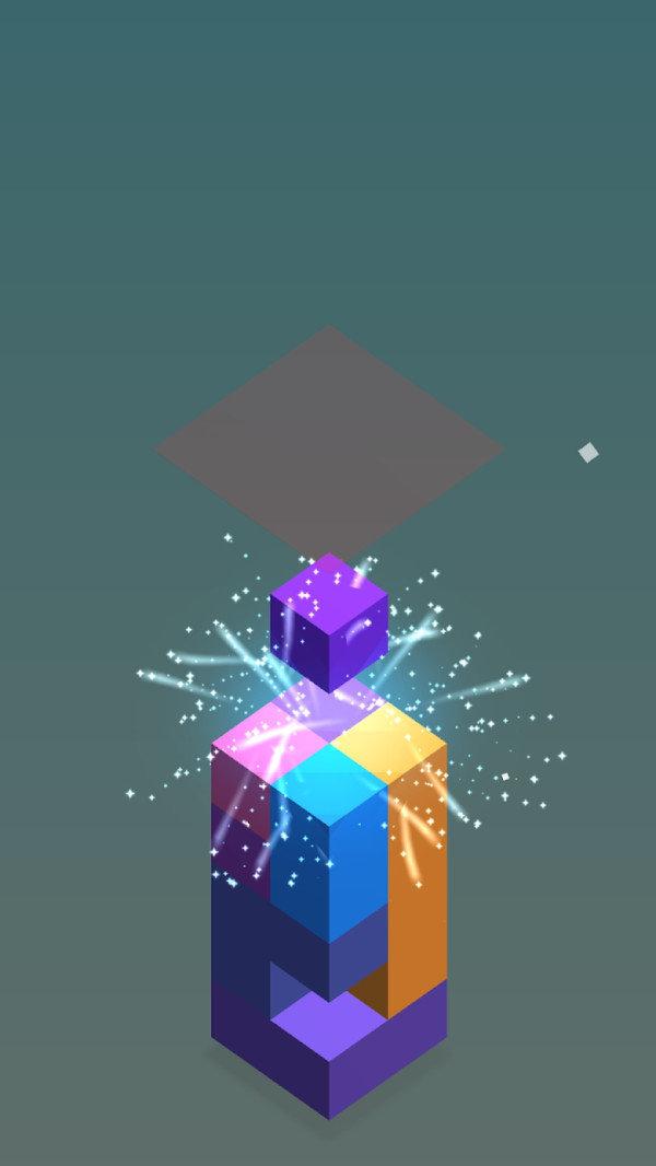 色彩的立方块