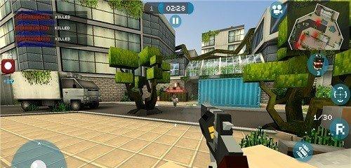 我的世界疯狂枪战最新版是一款十分精彩的像素风枪战手游