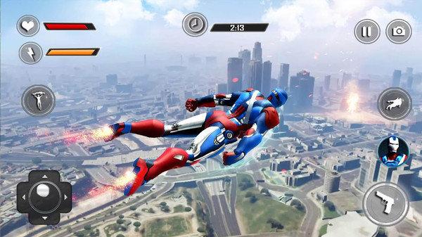 飞行机器人英雄游戏下载-飞行机器人英雄最新版下载