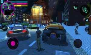 城市英雄赛博朋克战场