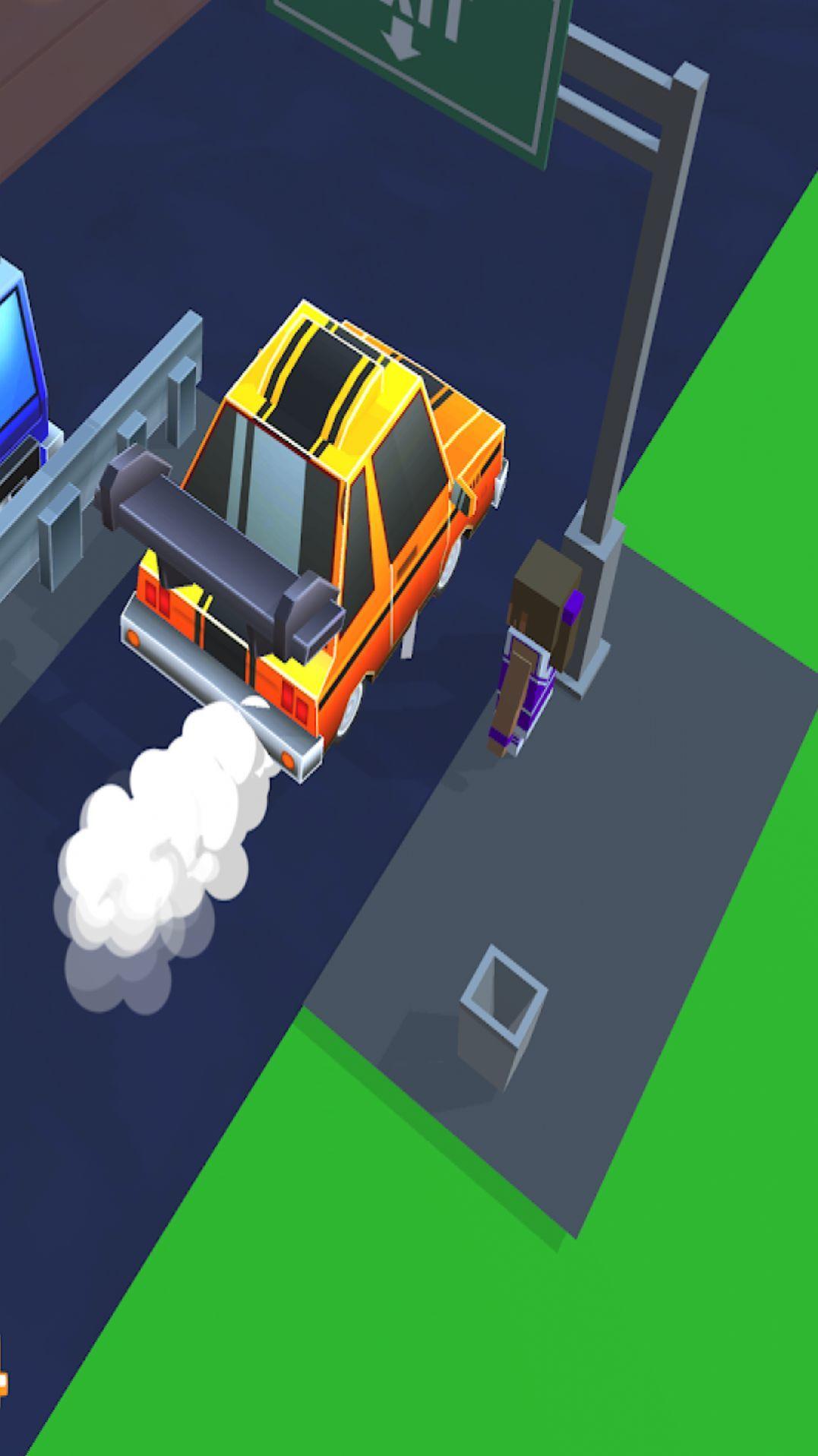 像素疯狂出租车