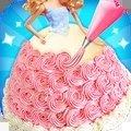 公主少女蛋糕